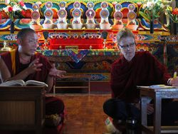 Tibetan Buddhist Kenpo and translator